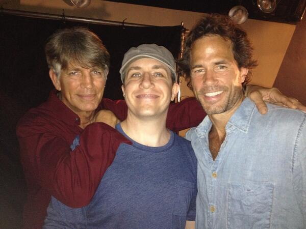 Eric Roberts, Jon Maas and Shawn Christian