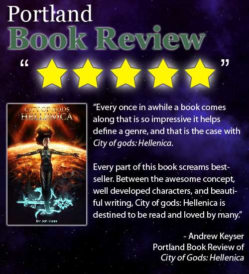Portland Book Review - City of Gods - Hellenica