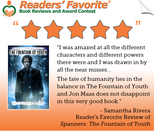 Reader's Favorite - Spanners Review