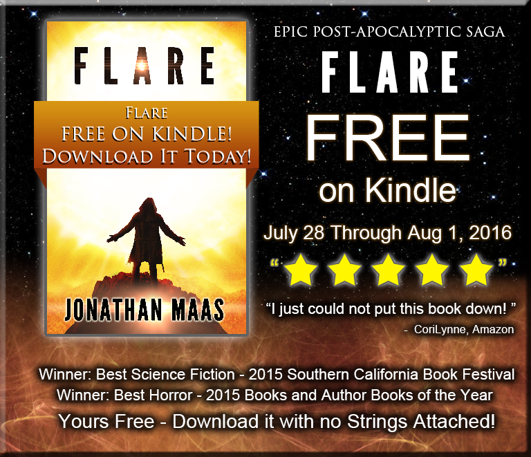 Flare Kindle Giveaway Promo - July 28 - Aug 1 2016