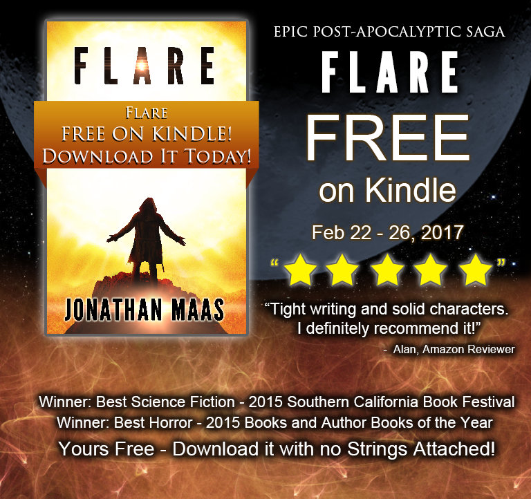 Promo for Flare - Free on Kindle Feb 22-26, 2017